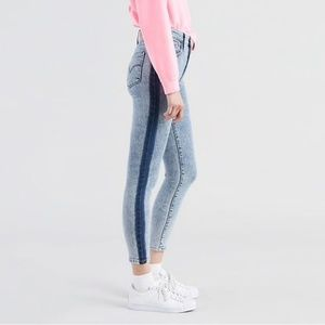 Levi's 721 High Rise Skinny Ankle with dark wash